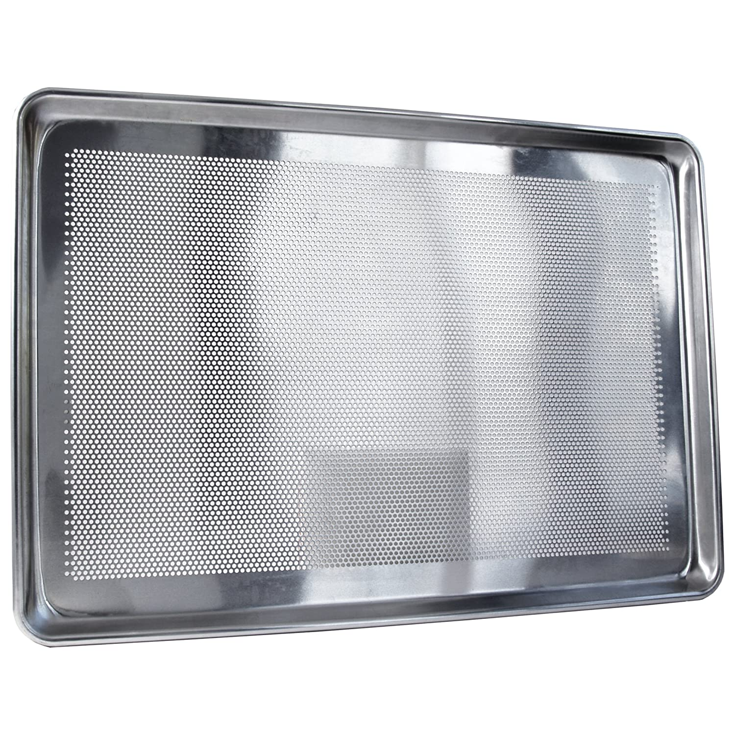 Focus Foodservice Commercial Bakeware 18ゲージアルミPerforated Bottom Fullサイズシートパン B00188CACE