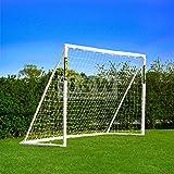Résistant Cage de Foot FORZA 2,4 x 1,8 m Nouveau: en vente aussi avec Tir au But [Net World Sports]