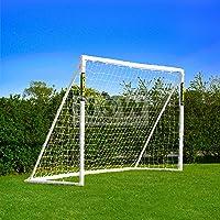 Net World Sports Forza - 2,4 x 1,8 m wetterfestes Fußballtor Abnehmbarer Torwand bestellbar