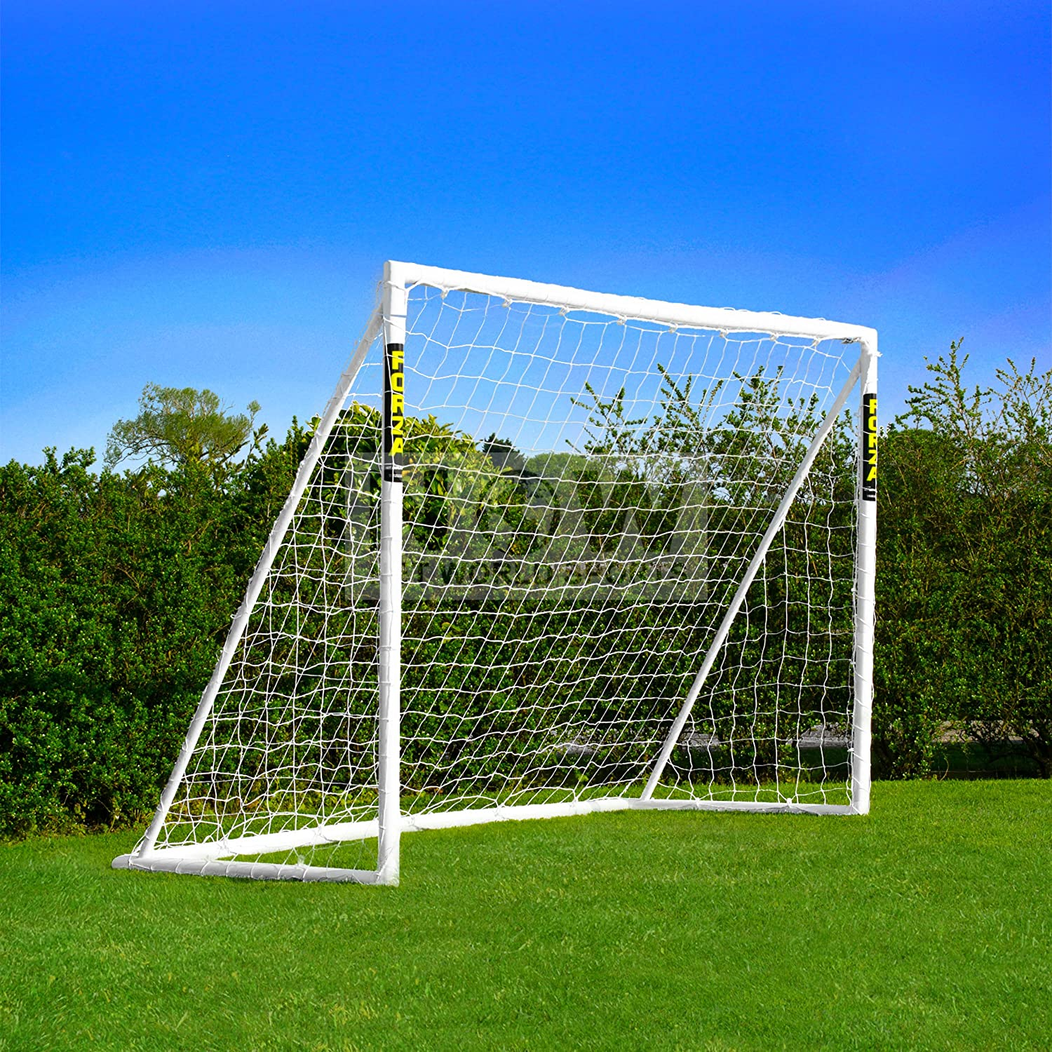 amazon com forza soccer goal 8x6 kit your kids out with the