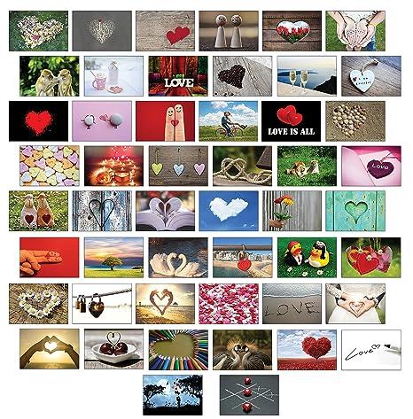 Ballonkarten / Flugkarten Hochzeitsspiel guter Wunsch fürs Brautpaar 50 Stück mit verschiedenen Motiven / Hochzeitsspiel extr