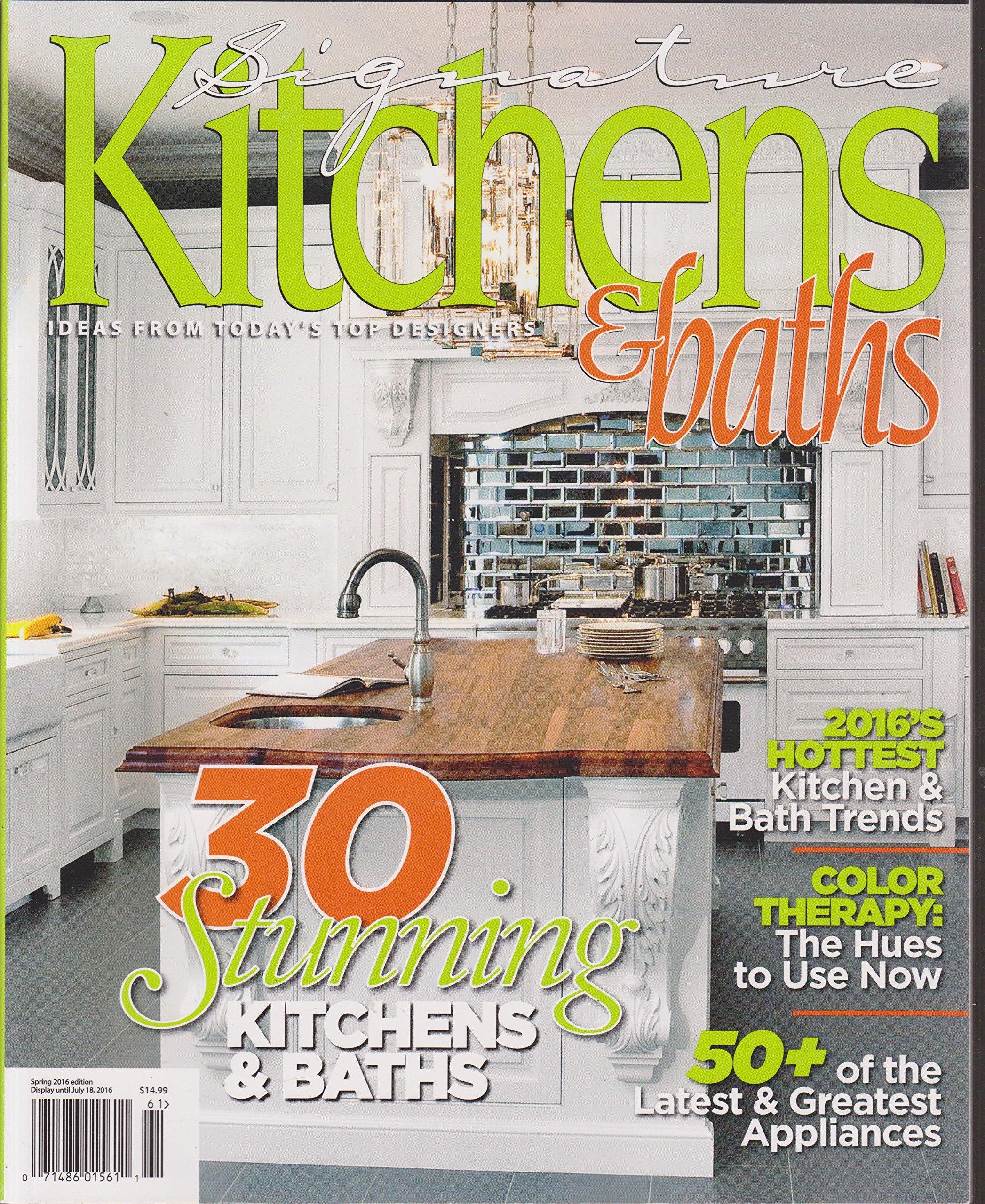 Signature Kitchens & Baths Magazine Spring 2016: H52: Amazon ...