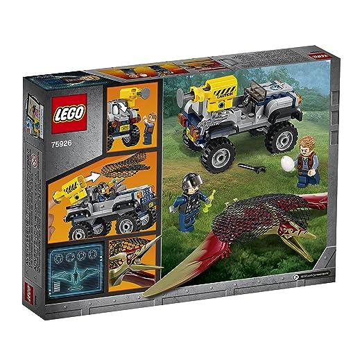 Lego Jurassic World Caza del Pteranodon 75926 (126 piezas): Amazon.es: Juguetes y juegos