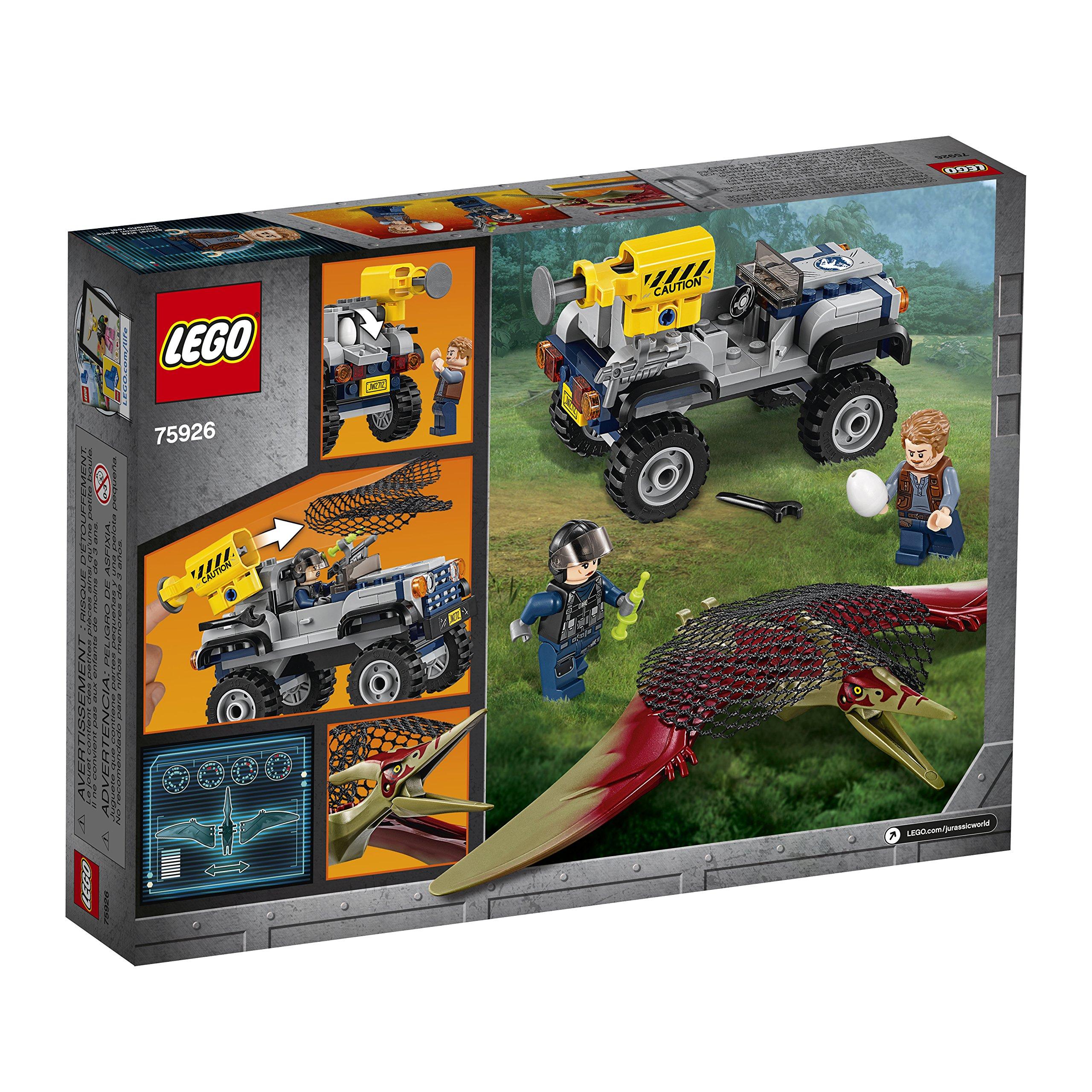 LEGO Jurassic World Pteranodon Chase 75926 Building Kit (126 Piece) by LEGO (Image #5)