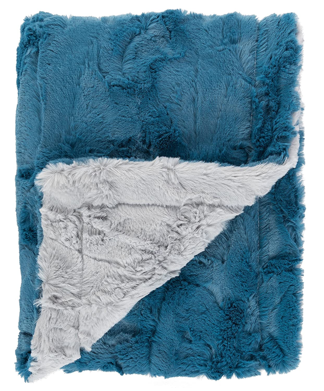 fec8e6853b Amazon.com  Ultra Soft Plush Baby Blanket - Luscious