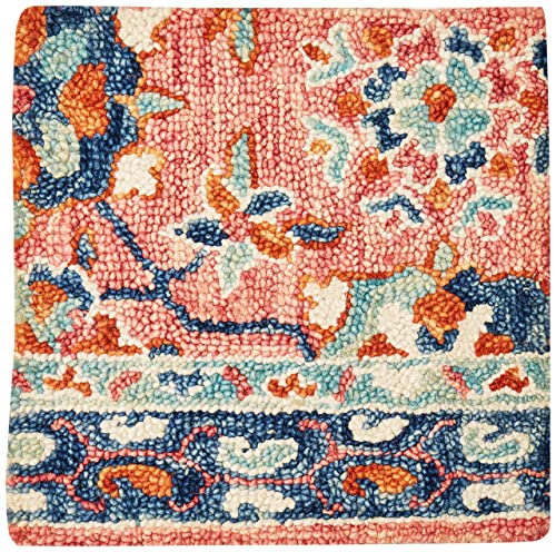 Loloi Rugs, Zharah Collection – Rose Denim Area Rug, 1 6 x 1 6