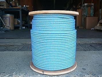"NovaTech Argus Double Braid Spectra Sheet Halyard Line 5//16/"" x 100/' Blue//Silver"