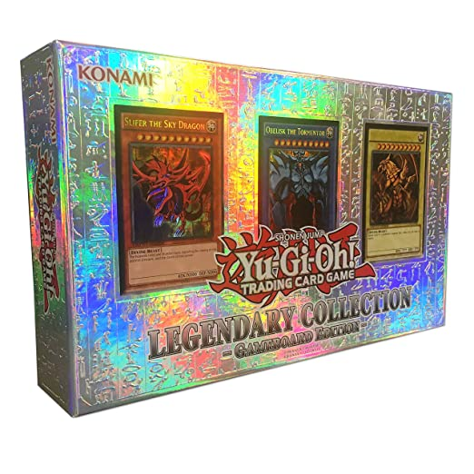 YuGiOh LEGENDARY COLLECTION Gameboard Edition Gods Cards LC01 [Toy]: Amazon.es: Juguetes y juegos