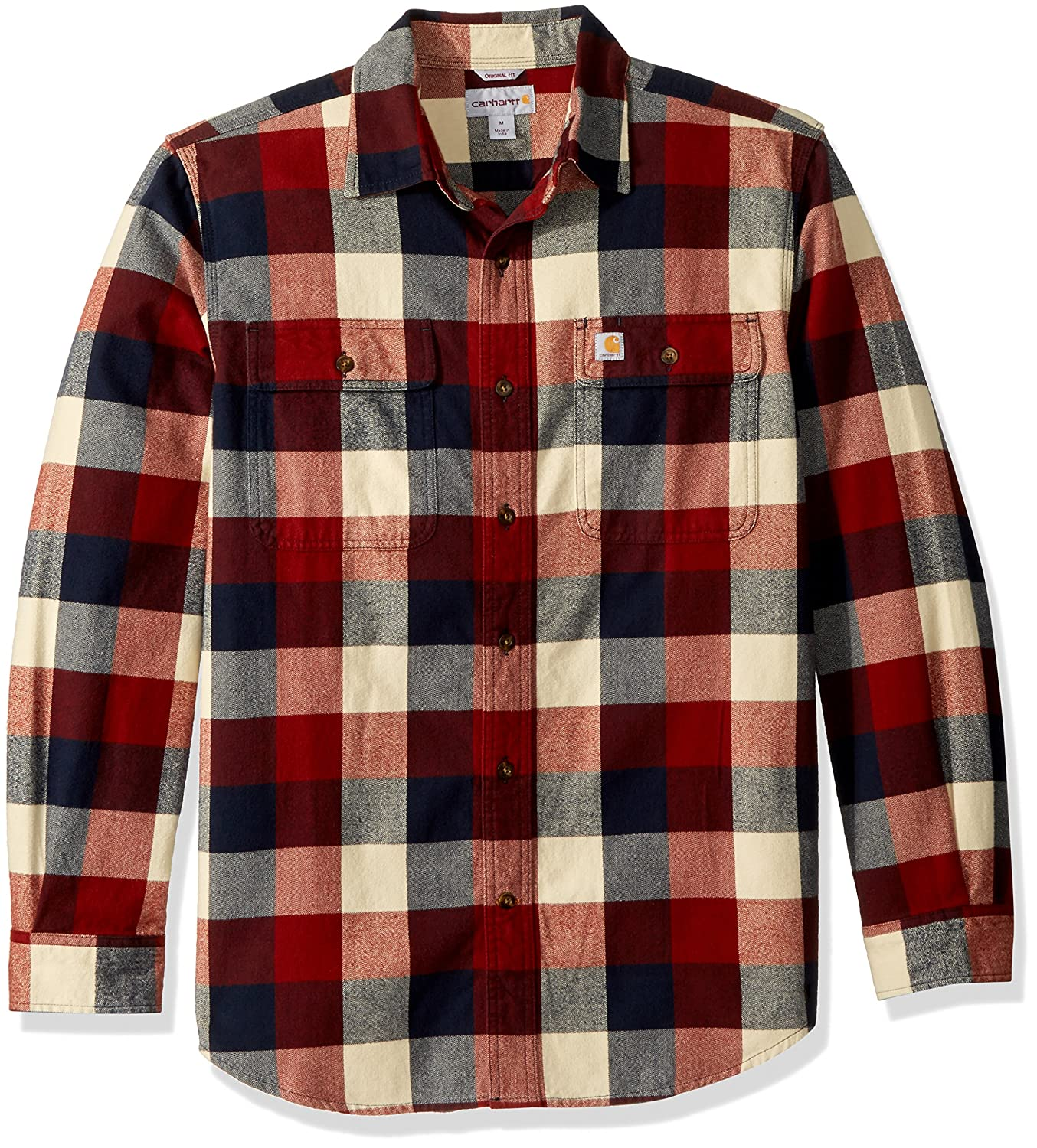 another chance classic style latest Carhartt Men's Hubbard Plaid Flannel Shirt