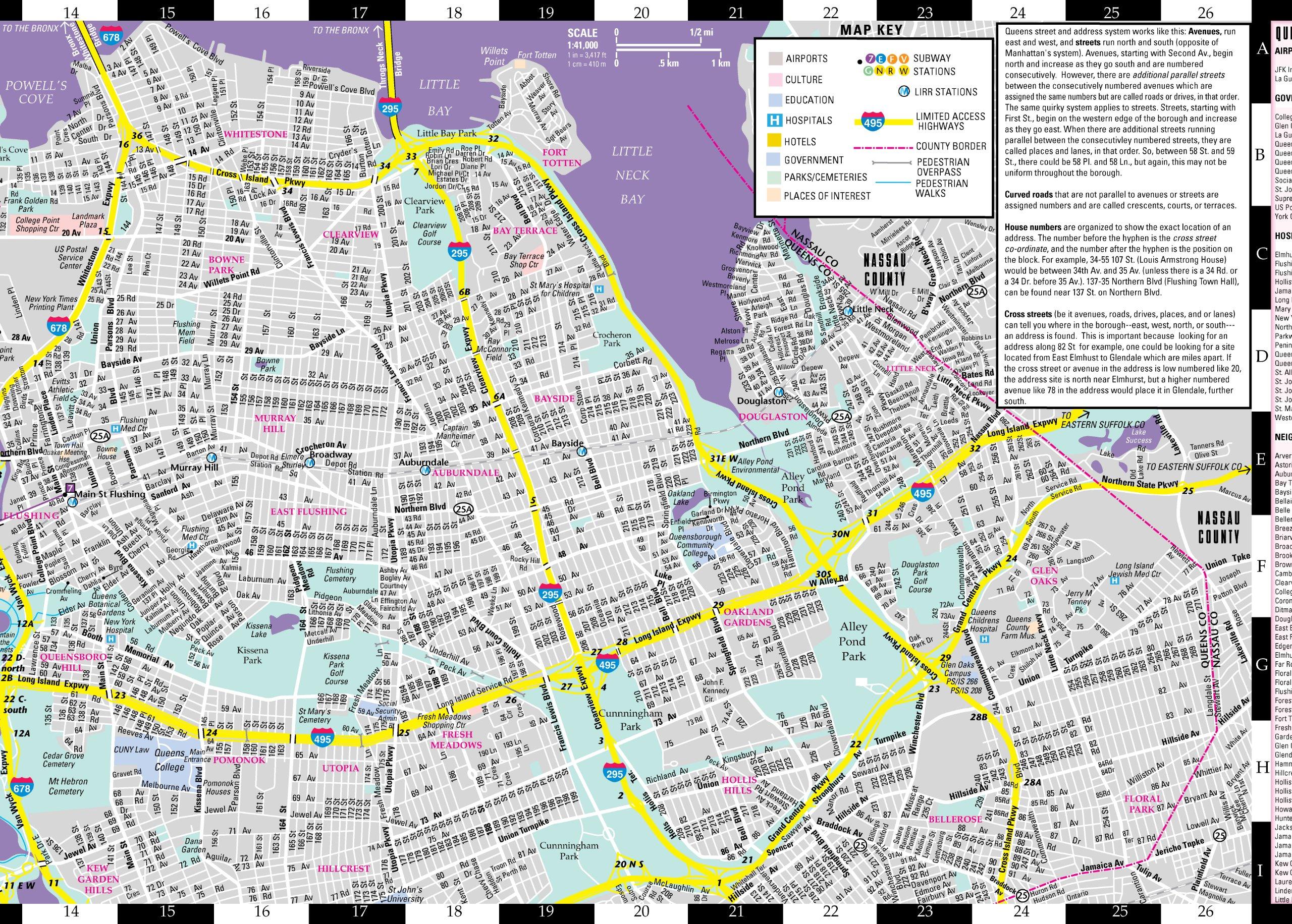 Queensborough Community College Map on