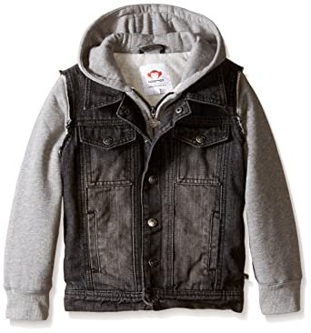 Amazon.com: Appaman Little Boys' Uptown Denim Jacket (Toddler/Kid ...