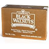 Hammons Black Walnuts - Fancy Large Kernels, 5 lb