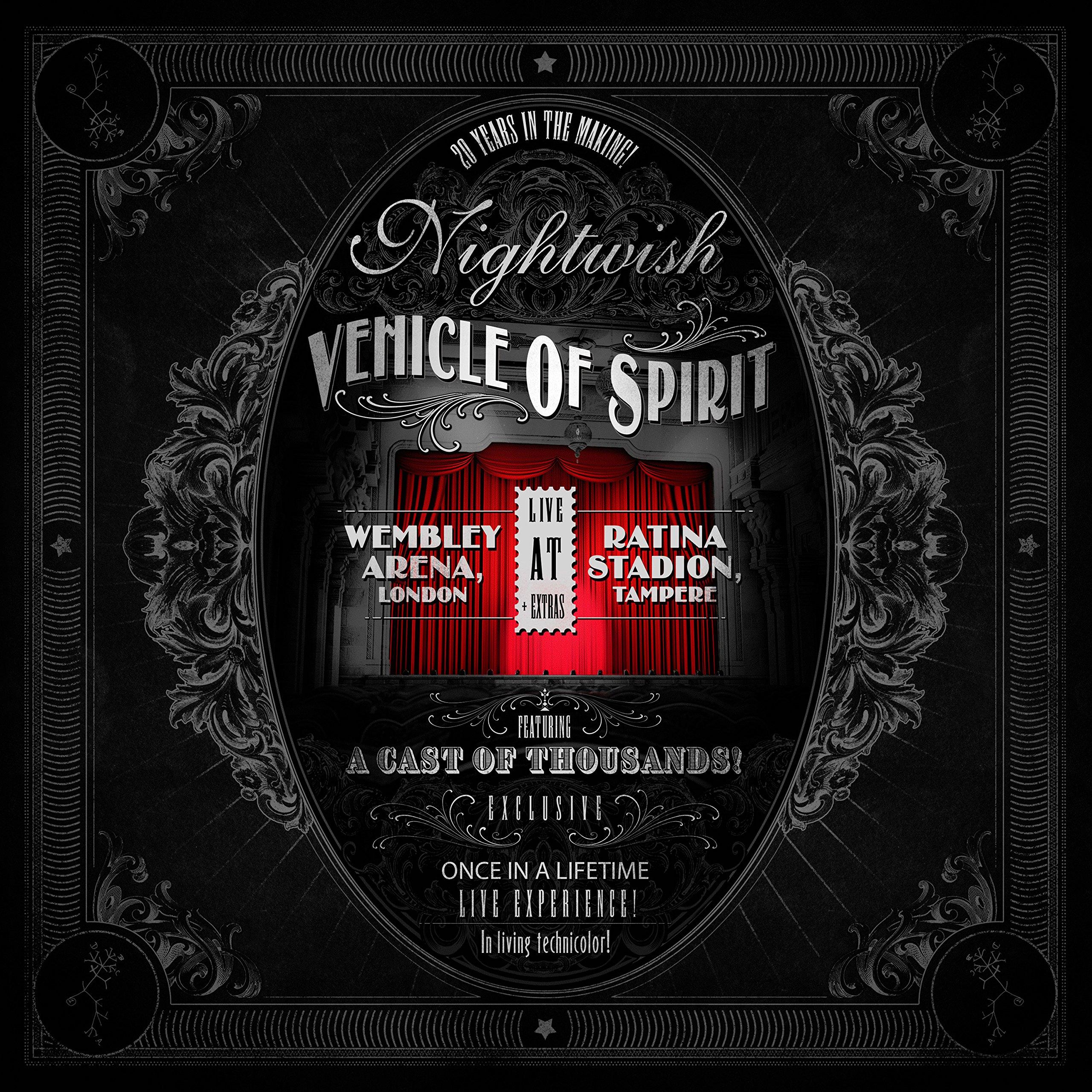 CD : Nightwish - Vehicle Of Spirit (With Blu-Ray, 4 Disc)
