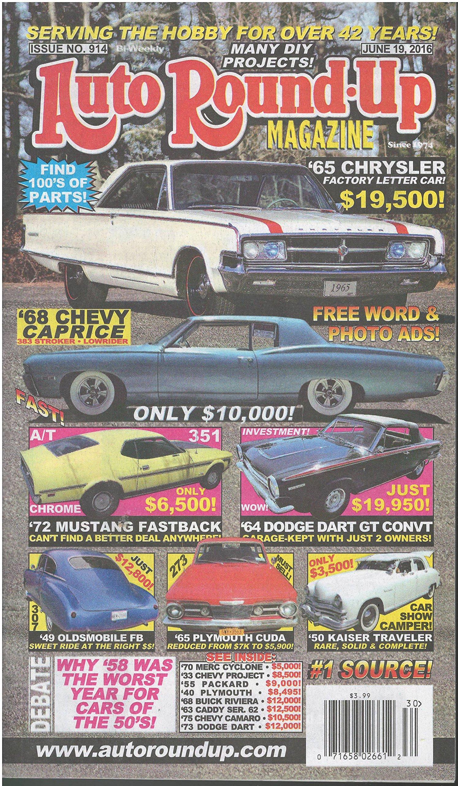 Read Online Auto Round-up Magazine June 19 2016 PDF