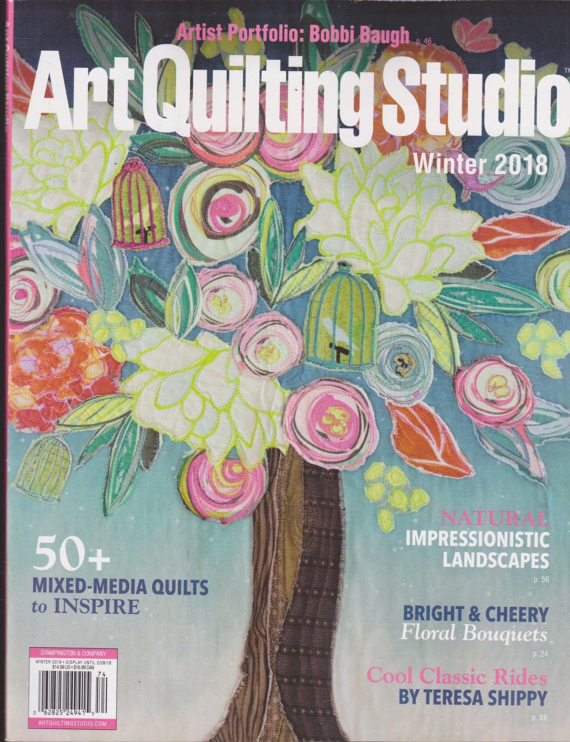 Download Art Quilting Studio Magazine Winter 2018 ebook