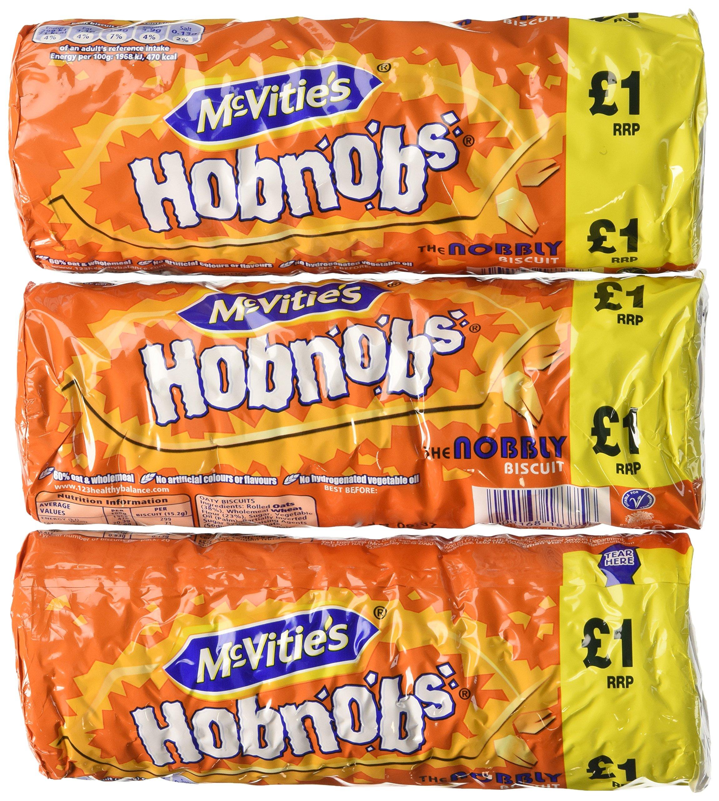 McVitie's Original Hobnobs 10.5 oz. (Pack of 3)