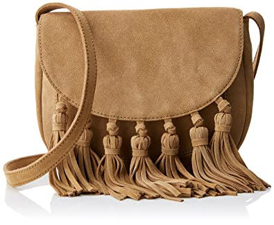a17d7bbb75 Springfield Women s Bolso Flecos Seraje Tote Bag Brown  Amazon.co.uk  Shoes    Bags