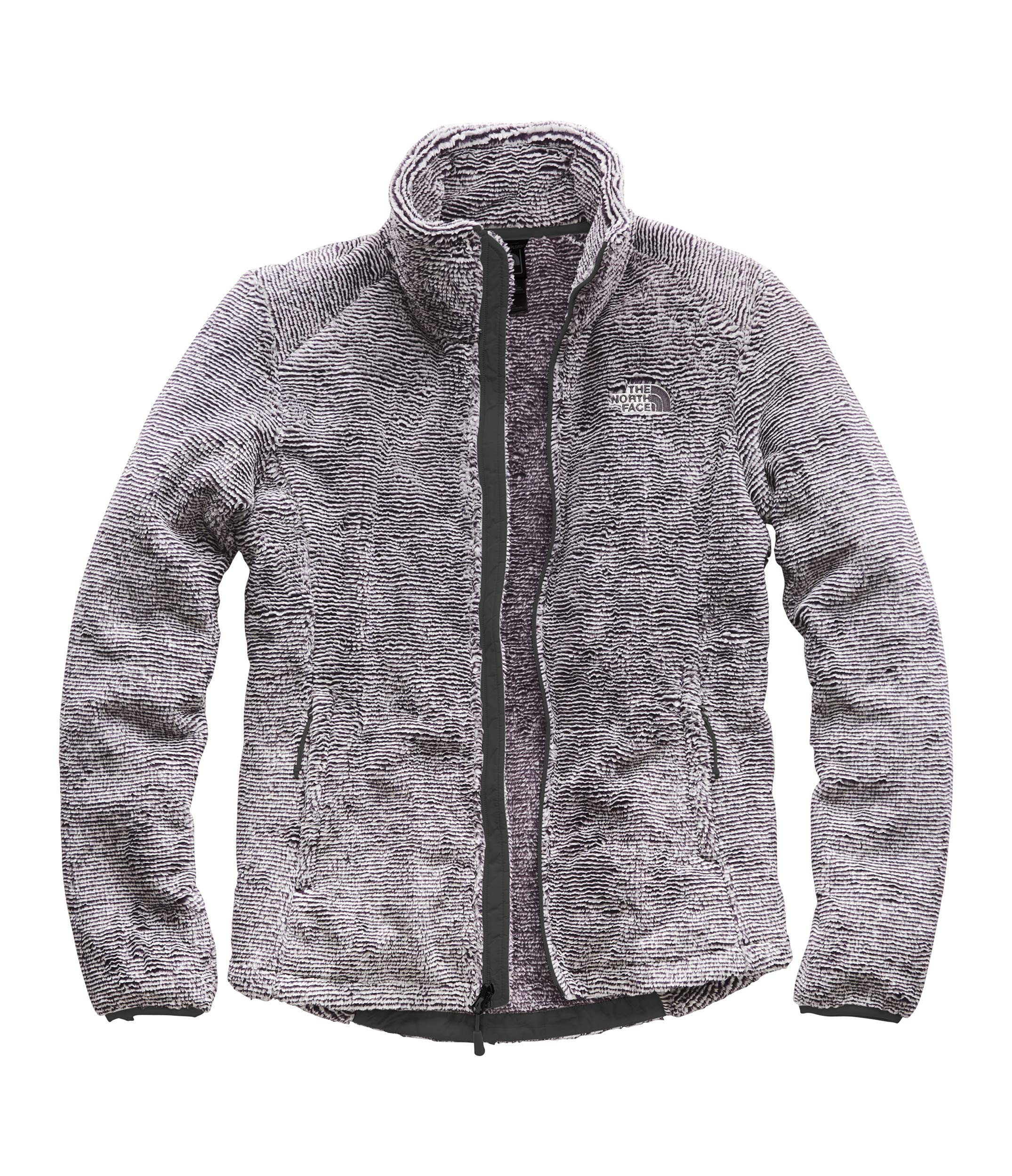 The North Face Women's Osito 2 Jacket Weathered Black/Tin Grey Stripe X-Large by The North Face