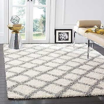 grey area rugs 5x7 shag collection ivory rug feet 6x9 walmart
