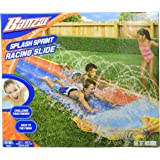 BANZAI Spring & Summer Toys 16ft-Long Splash Sprint Racing Slide