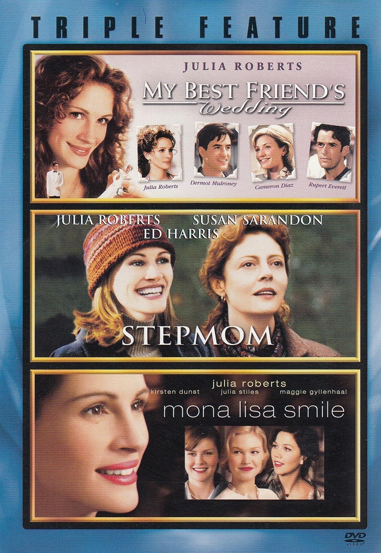 Julia Roberts Triple Feature My Best Friend S Wedding Stepmom Mona Lisa Smile Amazon Co Uk Dvd Blu Ray