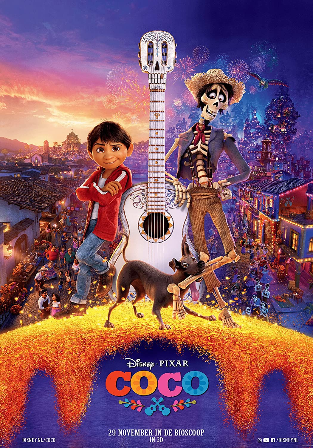 Amazon.com : Coco Movie Poster Limited Print Photo Stars: Anthony Gonzalez,  Gael García Bernal, Benjamin Bratt Size 11x17 #1 : Everything Else
