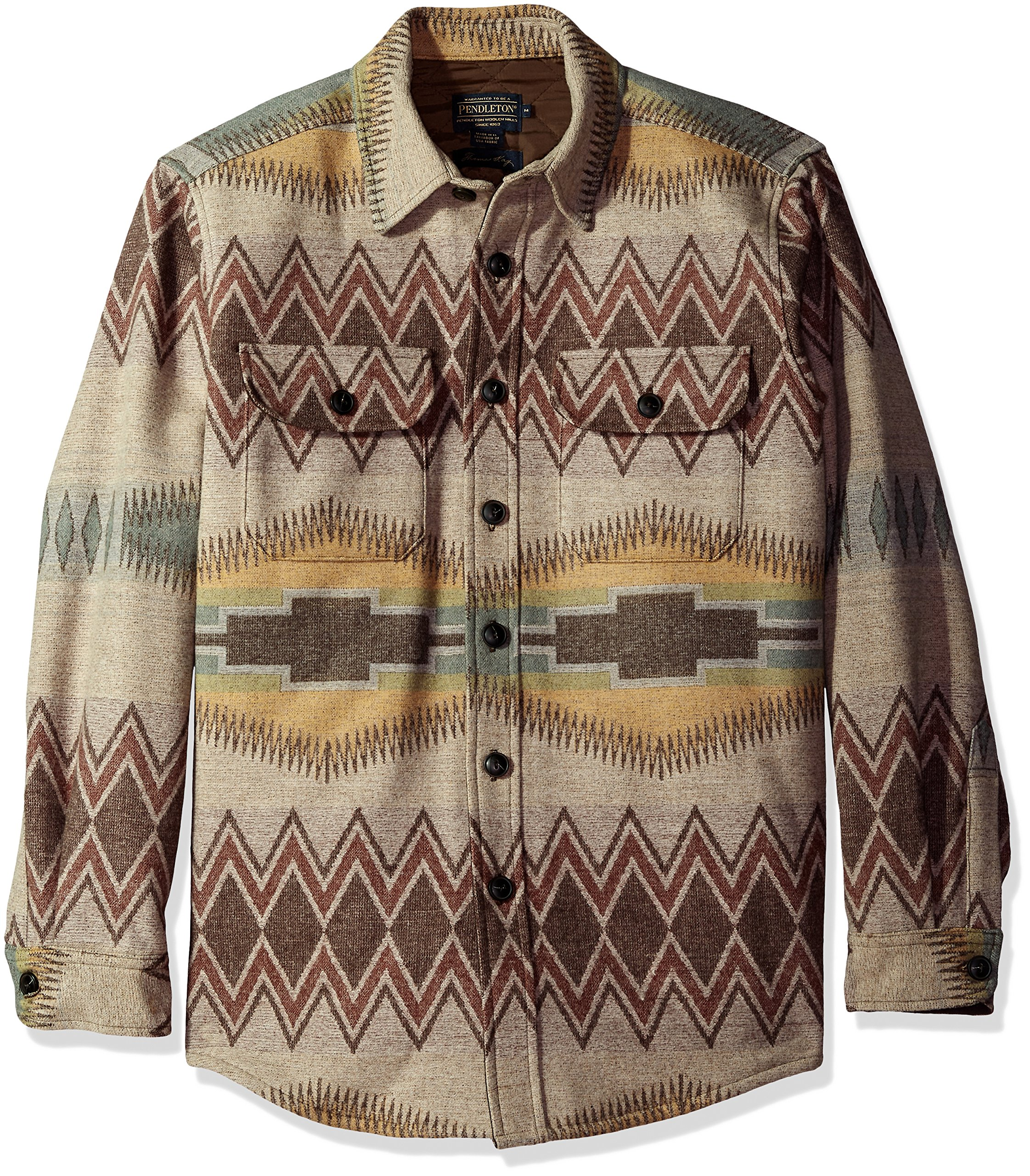 Pendleton Men's Thomas Kay CPO Shirt Jacket, Rock Point, XXL