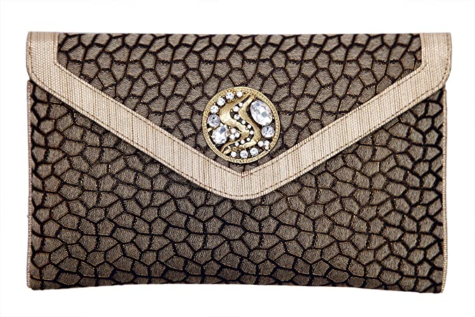 another chance outlet store comfortable feel STYLO stylo0002 Women Clutches Black: Amazon.in: Clothing ...