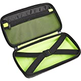 Amazon Basics 10.5-inch Large EVA Case for Accessories - Ash Gray