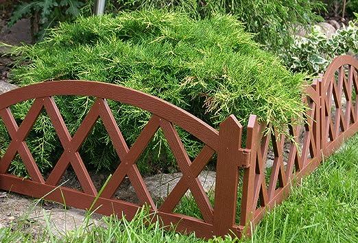 Jardín Valla verja para cercado Terracota 2, 40 m: Amazon.es: Jardín