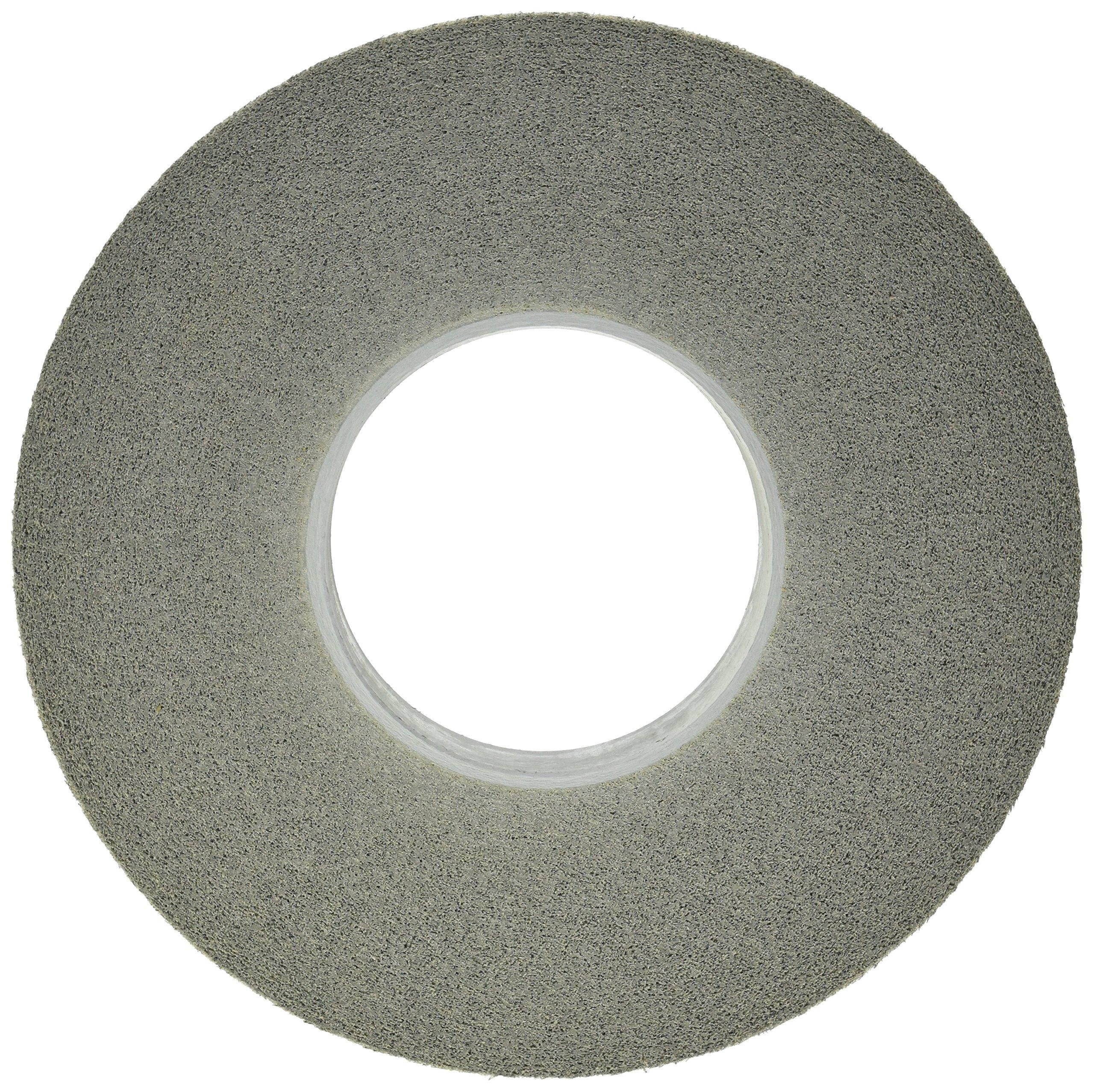 Scotch-Brite(TM) EXL Deburring Wheel, Silicon Carbide, 3000 rpm, 12 Diameter, 5 Arbor, 9S Fine Grit (Pack of 1)