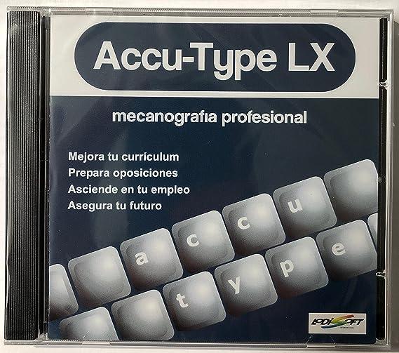 CURSO DE MECANOGRAFIA ACCU-TYPE LX: Amazon.es: Software