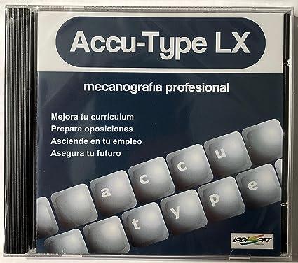 CURSO DE MECANOGRAFIA ACCU-TYPE LX