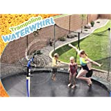 ThrillZoo Trampoline WaterWhirl - Kids Fun Summer Outdoor Water Park Game Sprinkler - Waterpark Toys for Boys Girls and Adult