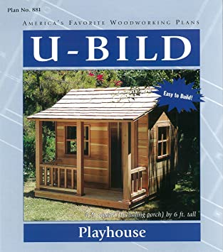 woodworking project paper plan for playhouse no 881 - Lighthouse Playhouse Building Plans
