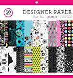 "ColorBok 68231B Designer Paper Pad Bright Ideas, 12"" X 12"""