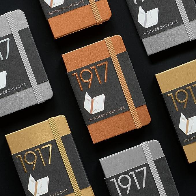 Amazon Com Leuchtturm1917 Business Card Holder Metallic