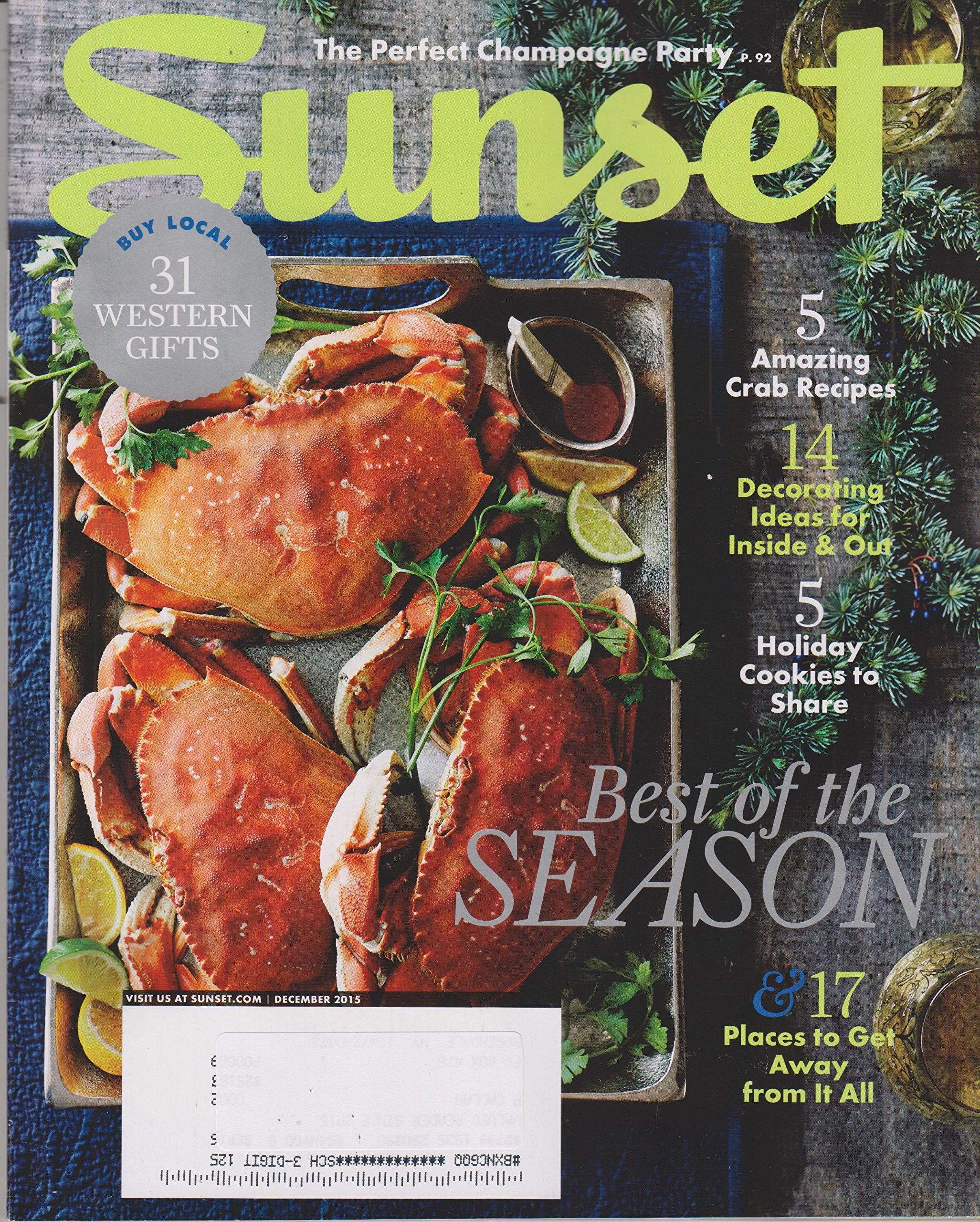 Download Sunset December 2015 Best of the Season pdf