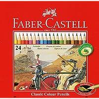 Faber-Castell Metal Kutu Boya Kalemi, 24 Renk