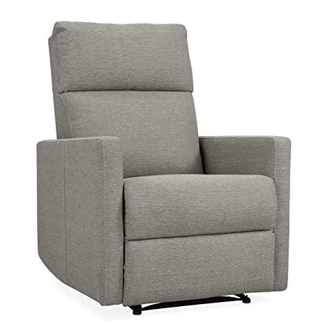 Awe Inspiring Domesis Ali Power Wall Hugger Reclining Chair With Usb Port In Dove Gray Linen Pabps2019 Chair Design Images Pabps2019Com