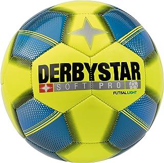 Derbystar Enfants Soft Pro Light Futsal Jaune Bleu Noir, 4