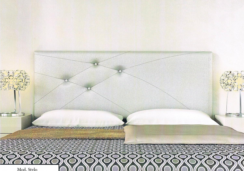 colchones y muebles baratos Cabecero tapizado Stylo (150): Amazon.es: Hogar