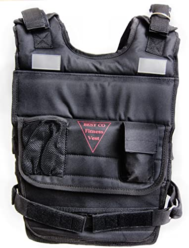 BESTCO PRODUCTS New Weighted Vest 80 Lbs.weight Vest