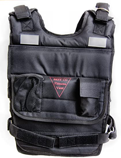 Weighted Vest Fitness Exercise Vest 90 lbs