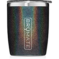 BrüMate Rocks 12oz Insulated Low Ball Cocktail Tumbler With Splash-proof Lid - Made With Triple Insulated Stainless…