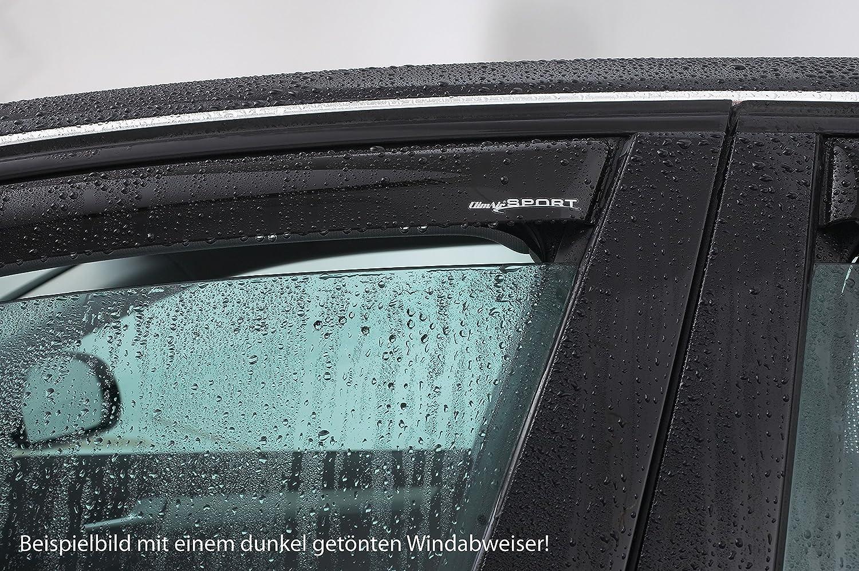 ClimAir P0027 Fensterblenden dunkel Volkswagen T-ROC 2017