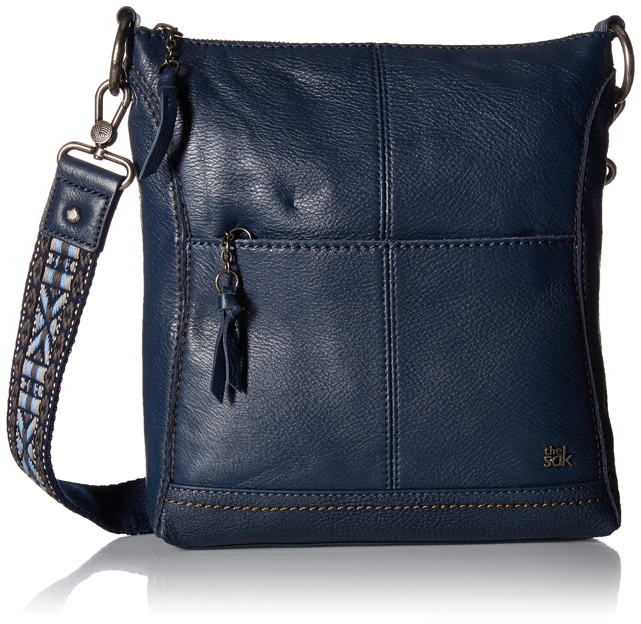 The Sak Women's Lucia Crossbody Indigo Crossbody Bag