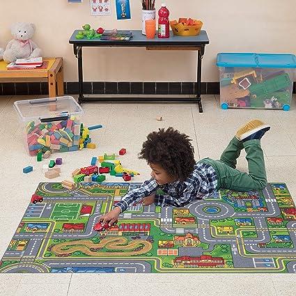 Tapis de Jeu pour Les Enfants 17 Tailles Snapstyle City Play