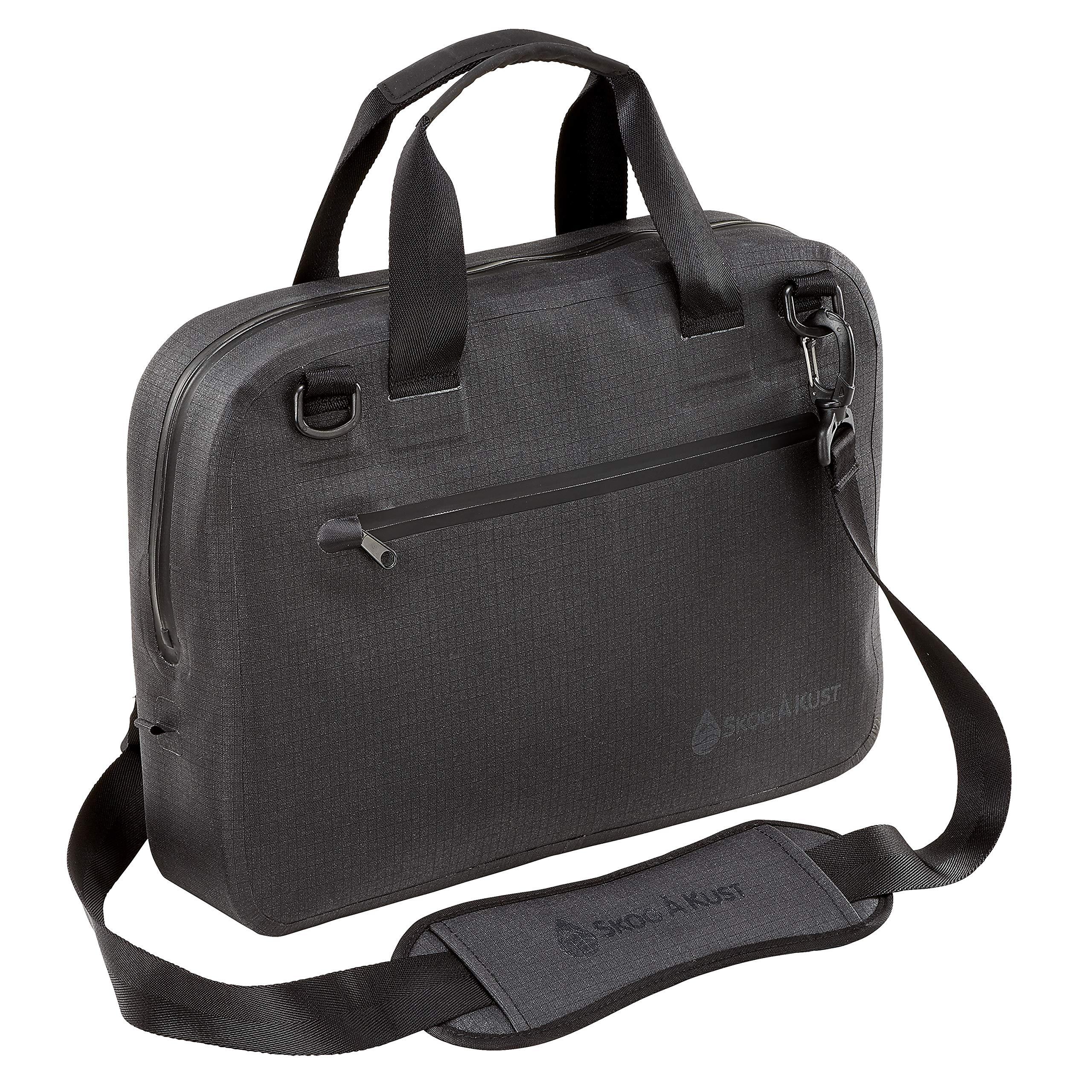 Såk Gear BriefSåk Pro 100% Waterproof & Airtight Messenger Bag   Black, 15''