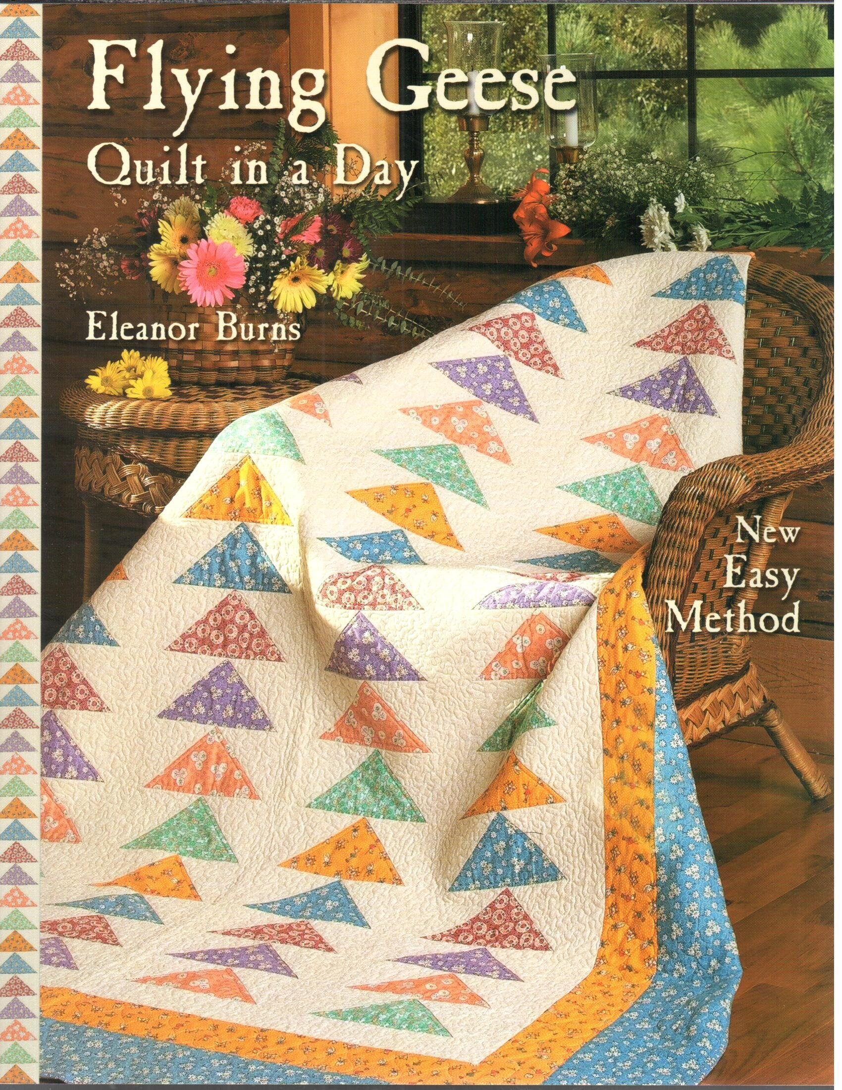 Flying Geese Quilt Eleanor Burns product image